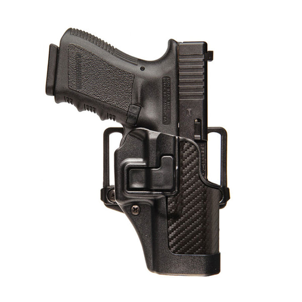 BLACKHAWK CQC SERPA Belt Holster, Colt Govt 1911, RH, Black (410003BK-R)