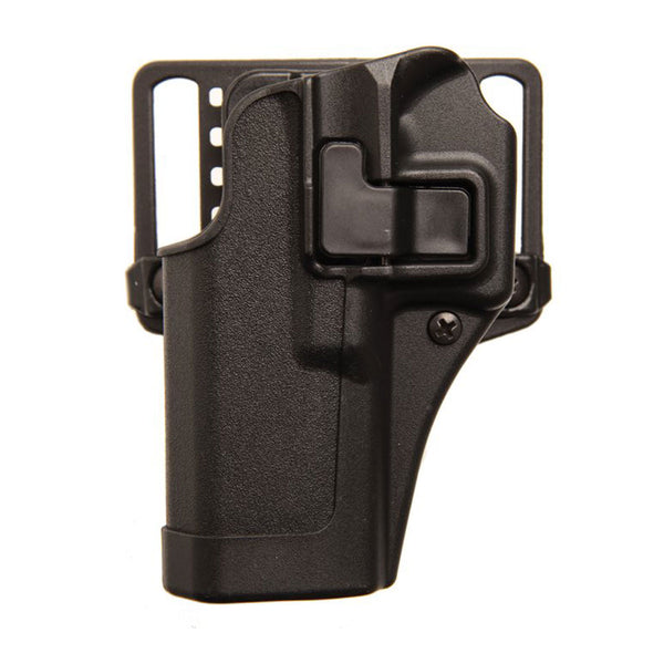 BLACKHAWK Serpa CQC Glock 42 Left Hand Belt & Paddle Holster (410567BK-L)