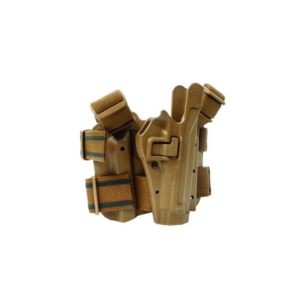 BLACKHAWK Serpa Tac Level 2 Beretta 92,96,M9,M9A1 Right Hand Holster (430504CT-R-USMC)