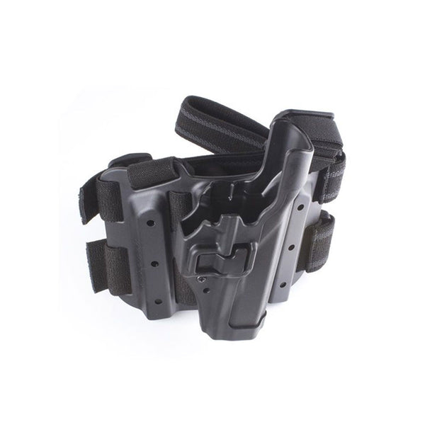 BLACKHAWK Serpa Tac Level 2 Glock 20,21,21SF,37,38,S&W M&P Right Hand Size 13 Holster (430513BK-R)