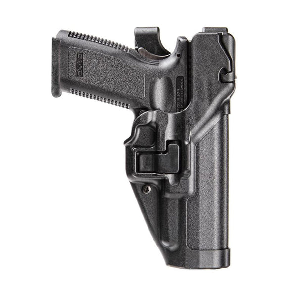 BLACKHAWK Serpa Level 3 H&K USP Compact,P2000 Right Hand Duty Holster (44H109BK-R)