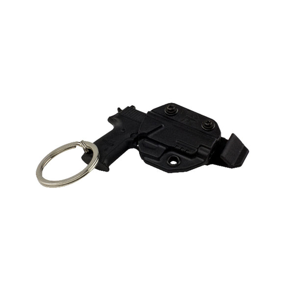 BLADE TECH INDUSTRIES Mini Firearm Key Chain w/ Holster (ACCX0099KCHHOLBTBLK)