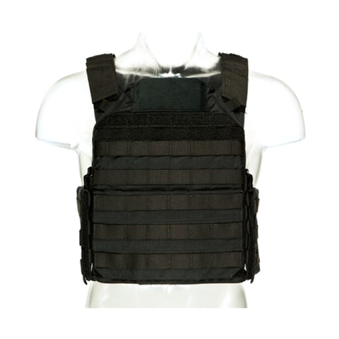 BLUE FORCE Lightweight Modular Black Plate Carrier (LMAC-BK)