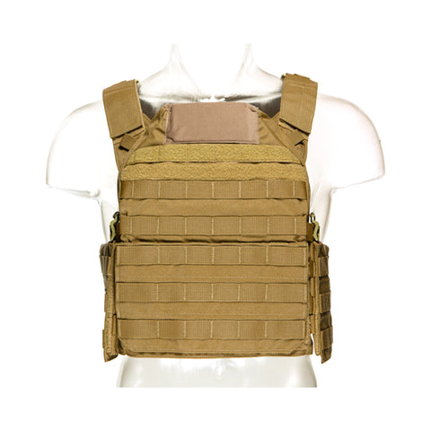 BLUE FORCE Lightweight Modular Coyote Brown Plate Carrier (LMAC-CB)