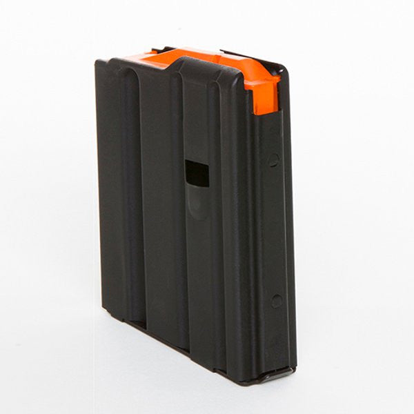 C-PRODUCTS AR15 223Rem 10rd Matte Black Magazine with Orange Follower (AR10SS)