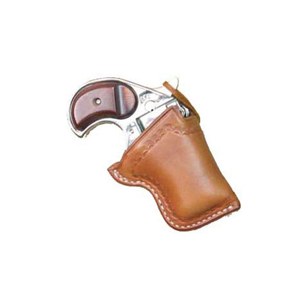 CIMARRON Cross Draw Holster, RH, Tan, 2.25in, 38 Cal. Derringer (GHD38)