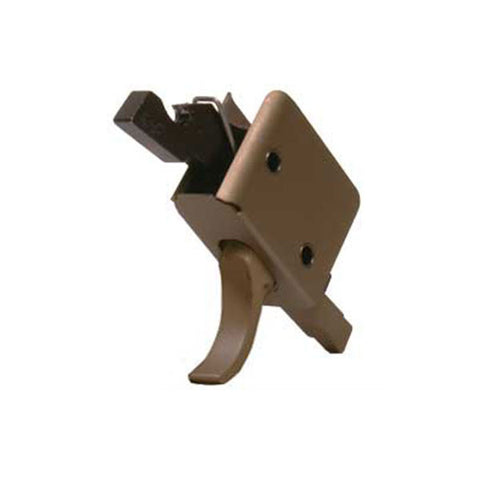CMC TRIGGERS Single Stage 3.5lb Match Curved Trigger, Burnt Bronze (91501BB)