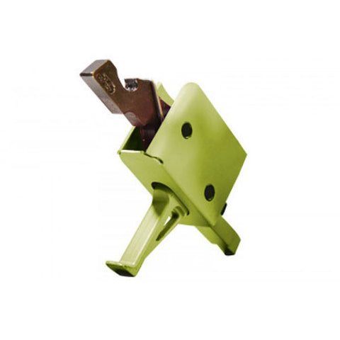 CMC TRIGGERS Single Stage 3.5lb Match Flat Trigger, Zombie Green (91503Z)
