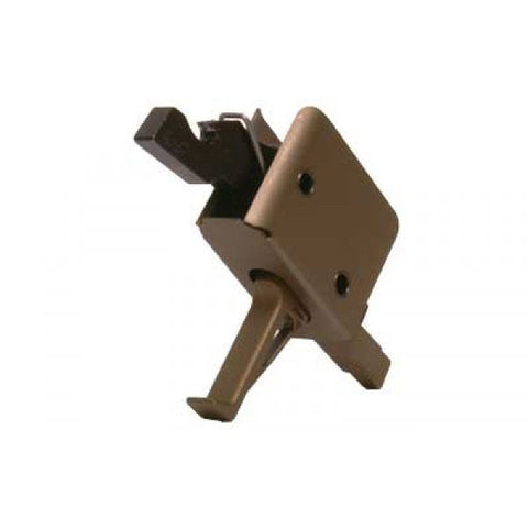 CMC TRIGGERS Single Stage 3.5lb Match Flat Trigger, Burnt Bronze (91503BB)