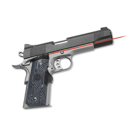 CRIMSON TRACE 1911 Government/Commander, G10 Black/Grey, Lasergrip, Fr. Activ. (LG-904)