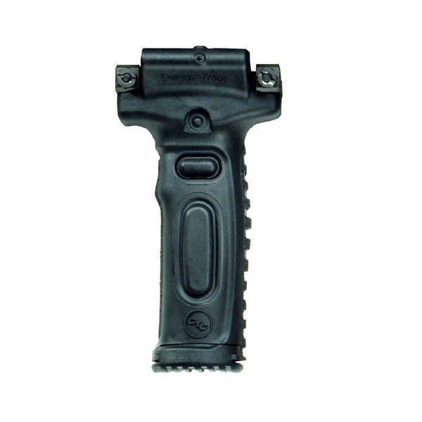 CRIMSON TRACE Moudual Vertical Foregrip Rail Equipped Long Guns Green Laser Sight (MVF-515 MOD G)
