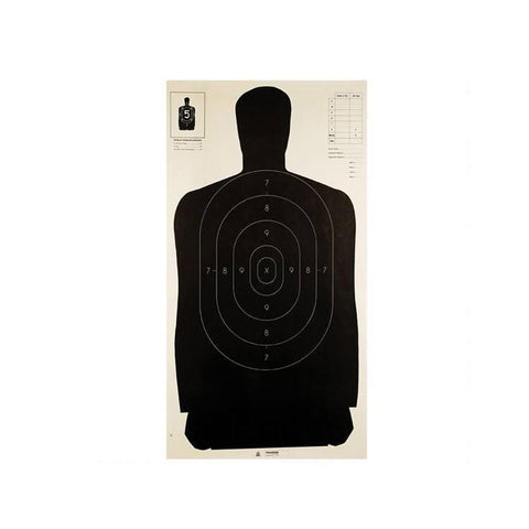 CHAMPION TRAPS AND TARGETS Police Silhouette 24ix45in Target 100-Pack (40727)