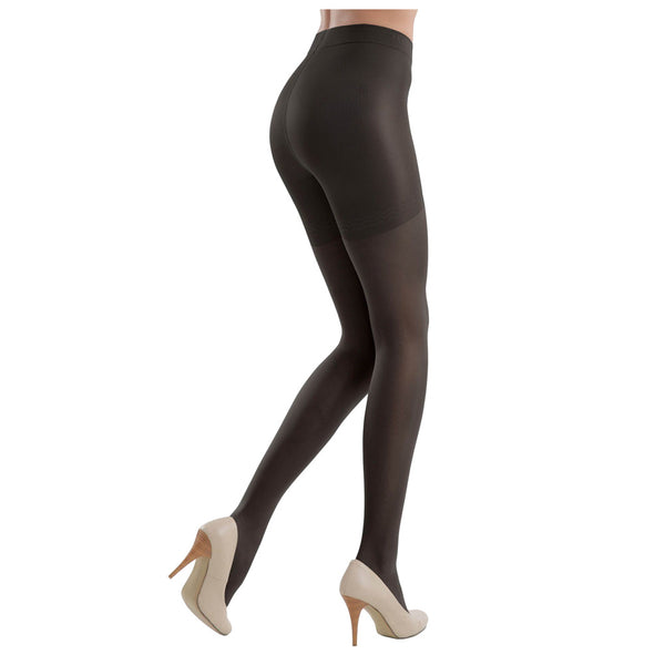 Conte Women's Shaping Black Pantyhose Tights - Control Compression 40 Denier