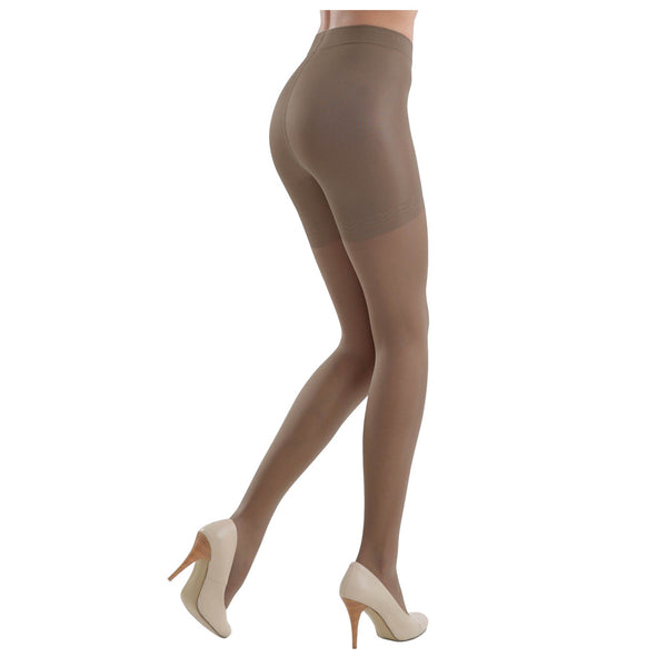 Conte Women's Shaping Brown Pantyhose Tights - Control Compression 40 Denier