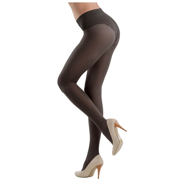 Conte Women's Slimming and Shaping Black Pantyhose Tights - Style 20 Denier