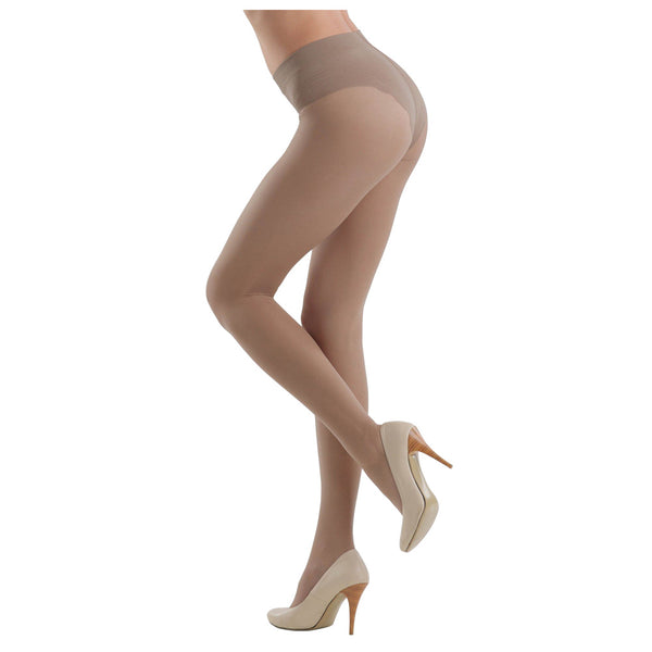 Conte Women's Slimming and Shaping Brown Pantyhose Tights - Style 20 Denier