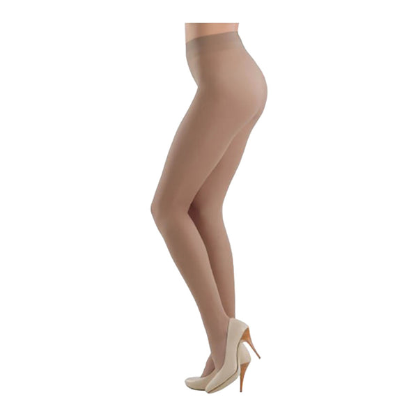 Conte Women's Silky Sheer Matte Brown Pantyhose Tights - Prestige 12 Denier