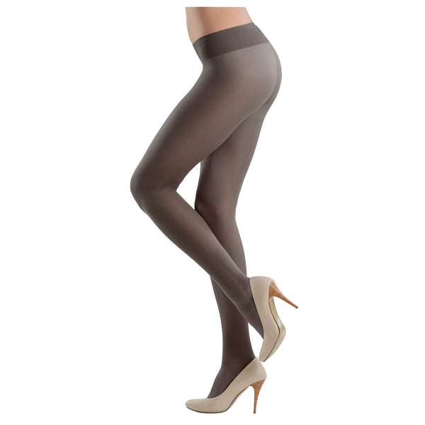 Conte Soft Top Low Waist Black Pantyhose Tights