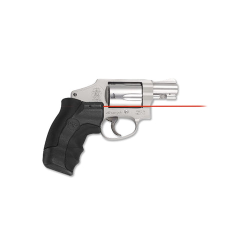 CRIMSON TRACE S&W J-Frame Round Butt Lasergrips with Red Laser (LG-350)