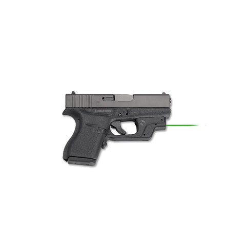 CRIMSON TRACE Glock 42/43 Laserguard with Green Laser (LG-443G)