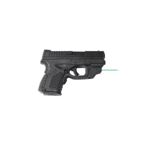 CRIMSON TRACE Springfield Armory XD-S Laserguard with Green Laser (LG-469G)