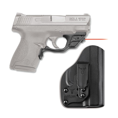 CRIMSON TRACE Laserguard with Blade-Tech IWB Holster for S&W M&P Shield 9mm/40 S&W  (LG-489-HBT)