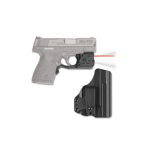 CRIMSON TRACE Laserguard Pro S&W M&P 9/40 Shield Red Laser w/Blade Tech Holster (LL-801-HBT)