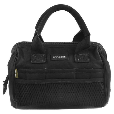 DRAGO GEAR Ammo Tool Bag, Black (17-301BL)