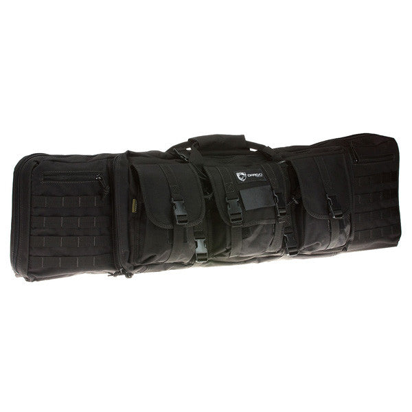 DRAGO GEAR Double Gun Case, 42 in, Black (12-323BL)