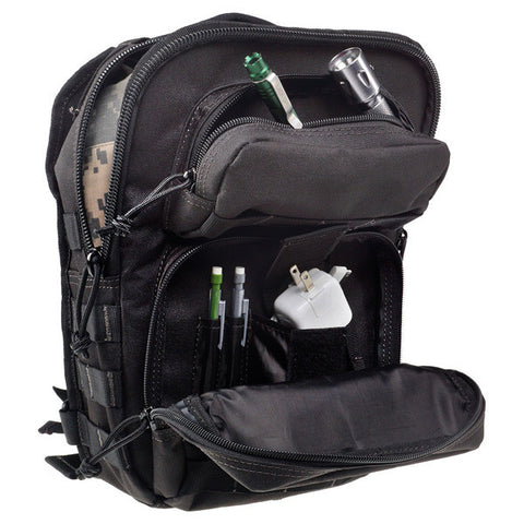 DRAGO GEAR IPad Sentry Backpack, Black (14-306BL)