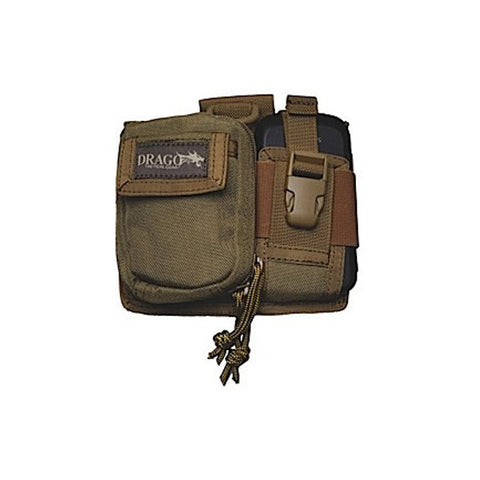 DRAGO GEAR Recon Camera Utility Phone/Recon Case, 600D Polyester, Tan (16303TN)