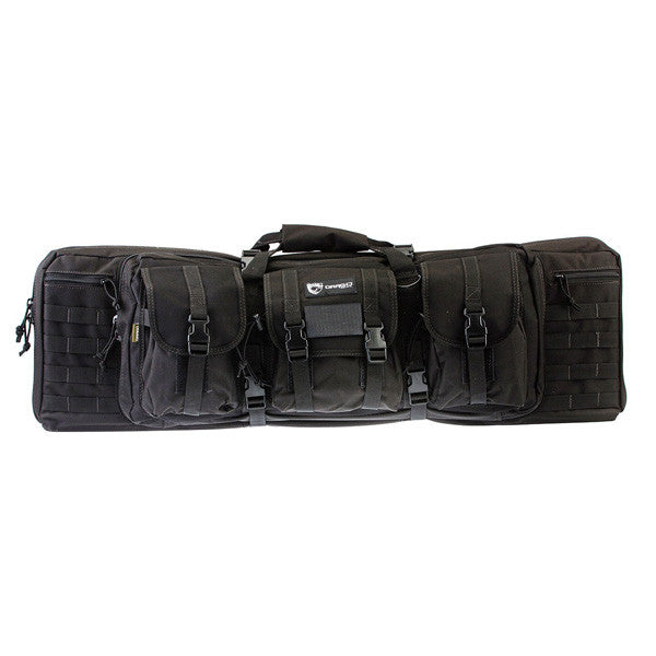 DRAGO GEAR Single Gun Case, 36 in, Black (12-302BL)