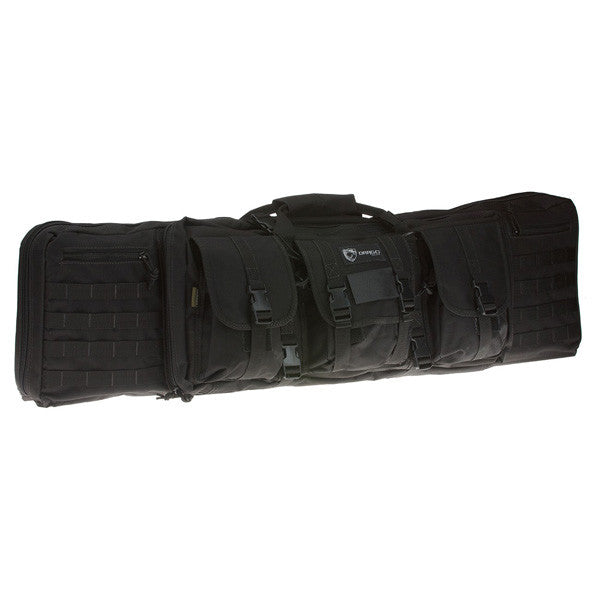DRAGO GEAR Single Gun Case, 42 in, Black (12-303BL)