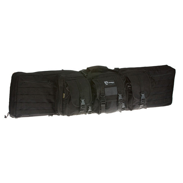 DRAGO GEAR Single Gun Case, 46 in, Black (12-304BL)