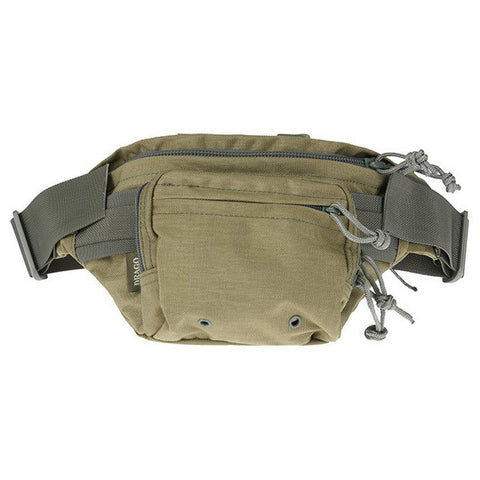 DRAGO GEAR Tactical Fanny Pouch, 1000D Cordura, Tan (13301TN)