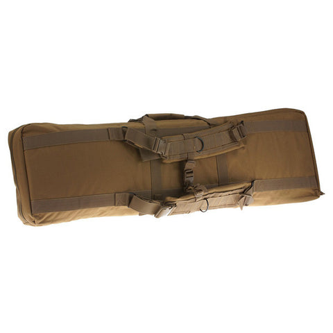 DRAGO GEAR Tactical Gun Case, 42 in, 600D Polyester, Tan (12303TN)