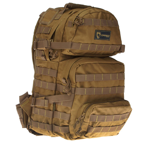 DRAGO GEAR Assault Tan Backpack (14-302TN)