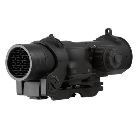 ELCAN SpecterDR Dual Role 1x-4x Optical Sight, 5.56 CX5395 Ballistic Reticle (DFOV14-C1)