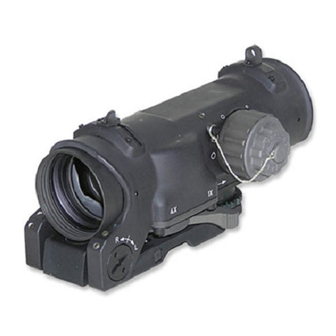 ELCAN SpecterDR Dual Role 1x-4x Optical Sight, 7.62 CX5396 Ballistic Reticle (DFOV14-C2)