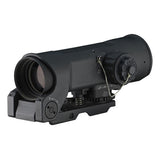 ELCAN SpecterOS4x Combat Optical Sight, 5.56 CX5855 Dual Illum. Ballistic Crosshair Ret. (SFOV4-C1)