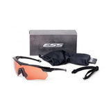ESS Crossbow Suppressor One Eyeshield, Black Frame, Hi-Def Copper Lens (740-0472)