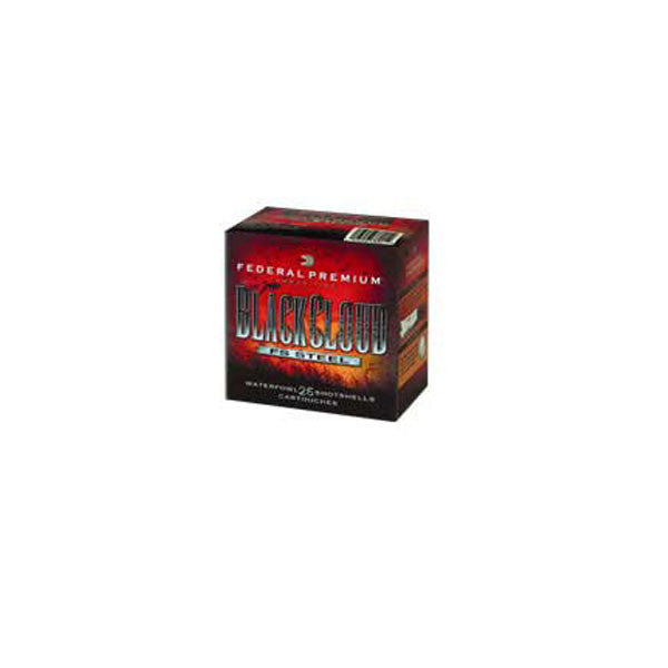 FEDERAL Premium Ammunition, 12Ga, 3.5 in. #2.25, Shot, Black Cloud, 25 250 (PWB1342)