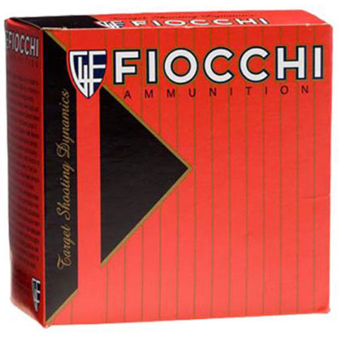 FIOCCHI 12 Gauge Target Loads, 2.75in,  1oz, #8 Shot,  25 Rd Box (12SD1L8 )