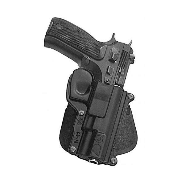 FOBUS CZ-75,75BD,85,Cadet,75D Compact Right Hand Standard Paddle Holster (CZ75)