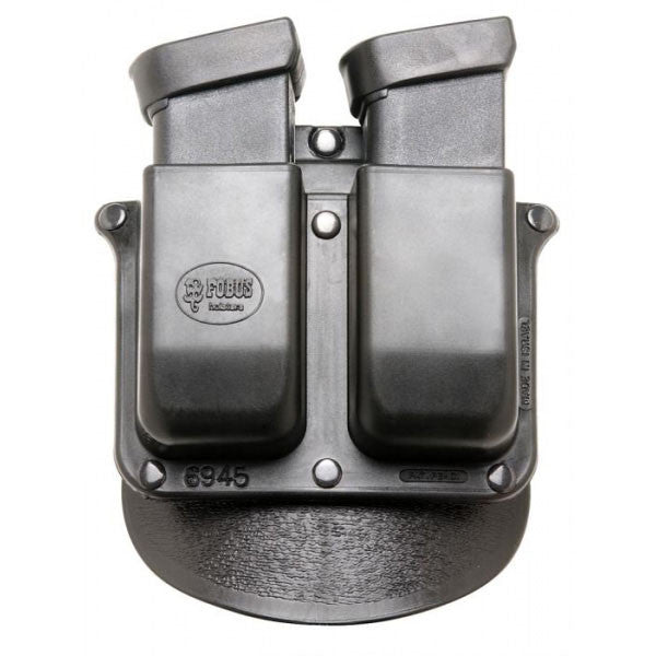 FOBUS Double Mag Pouch Paddle Holster 10mm 45 ACP Glock (6945P)