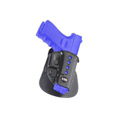 FOBUS Glock 17,19,22,23,31,32,34,35,Walther PK 380 Right Hand Roto Evolution Paddle Holster (GL2E2RP)