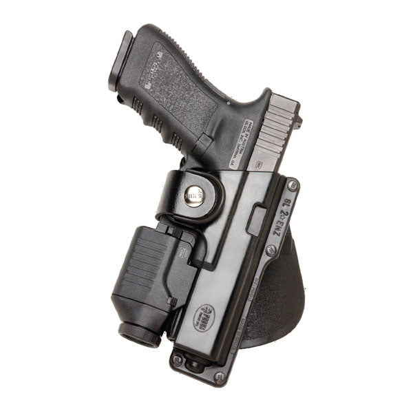 FOBUS Glock 17,22,31,Ruger 345,Walther 99 Left Hand Tactical Speed Roto Paddle Holster (GLT17RPL)