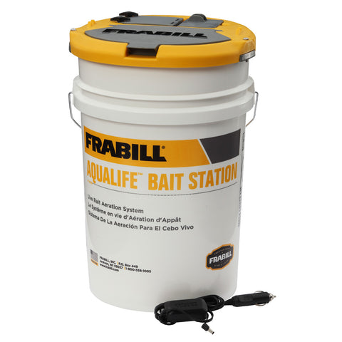 FRABILL 6 Gallon AquaLife Bait Station  (14691)