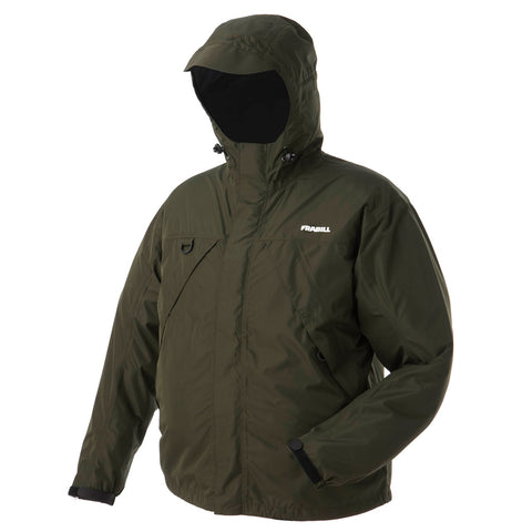 FRABILL 21001 F1 Storm Dark Forest Green Rain Jacket