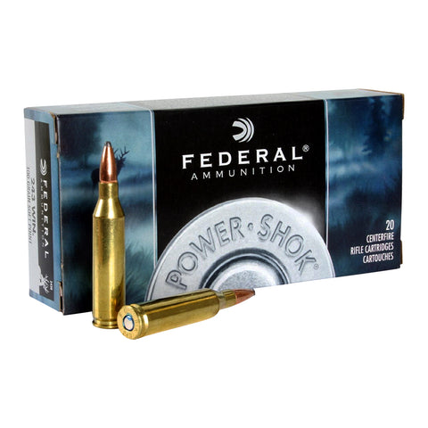 FEDERAL Power-Shok 243 Win. 100 Grain Soft Point Ammo, 20 Round Box (243B)